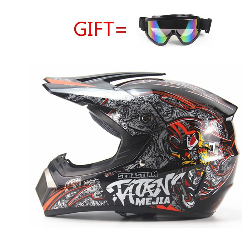 Children Motorcycle Helmets High Quality Boy Girl Protective Cycling  Motocross Downhill  MTV DH Safety helmet for kids  DOT
