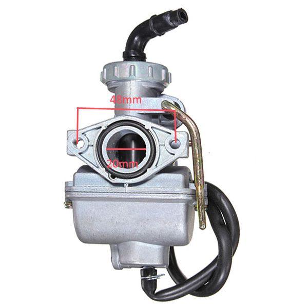 Motorcycle Carburetor CARB 50cc 70cc 90cc 110cc 125cc 135 ATV Quad Go kart SUNL TAOTAO PZ20