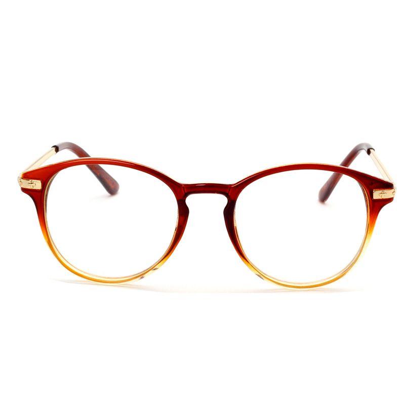 Small Square  Metal Half Frame Reading Glasses Men Women Business Square Hyperopia Eyeglasses KC201-220
