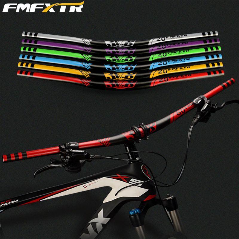 XM vtt guidon de vélo 720mm 780mm 31.8mm DH descente course vélo guidon hauteur poignée Bar 10 degrés arrière pièces de vélo