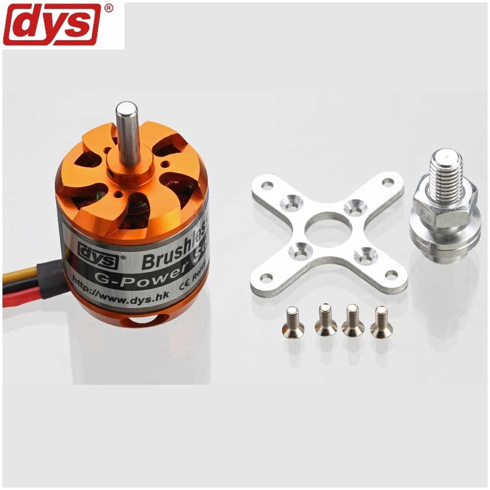 1pcs DYS D3536 910KV 1000KV 1250KV 1450KV 2-4S Brushless Motor for Multirotor RC Models Toys