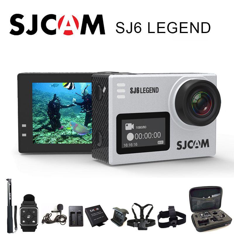 SJCAM SJ6 Legend Sport Action Camera 4K Wifi 30m Waterproof 1080P Ultra HD 2