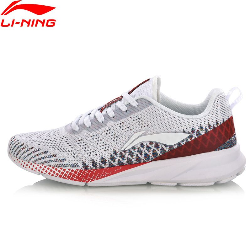 Li-Ning Women COLOR ZONE Running Shoes Cushion Mono Yarn Breathable LiNing Comfort Fitness Sport Shoes Sneakers ARHN116 XYP752