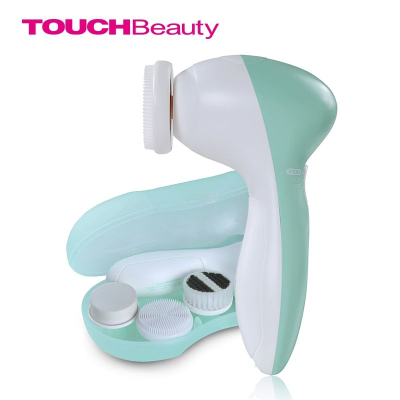 TOUCHBeauty Face Cleanser 3 in1 <font><b>Heads</b></font> & Facial Cleansing Brush TB-0525A