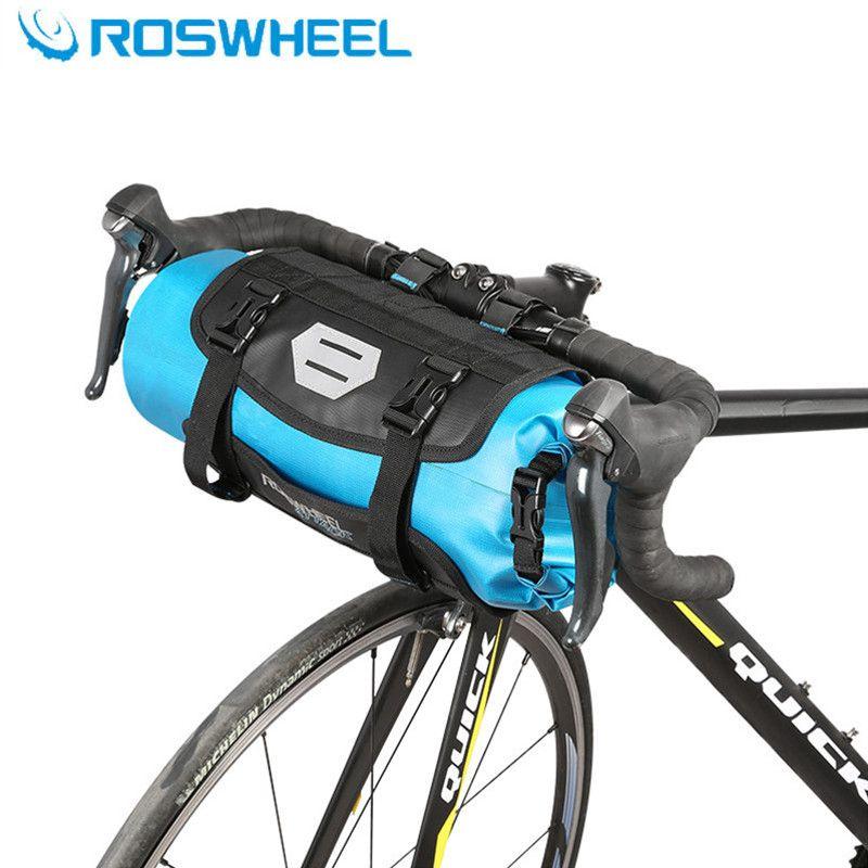 ROSWHEEL 2018 7L 100% volle wasserdicht radfahren fahrrad tasche auf den lenker MTB bike taschen bike zubehör