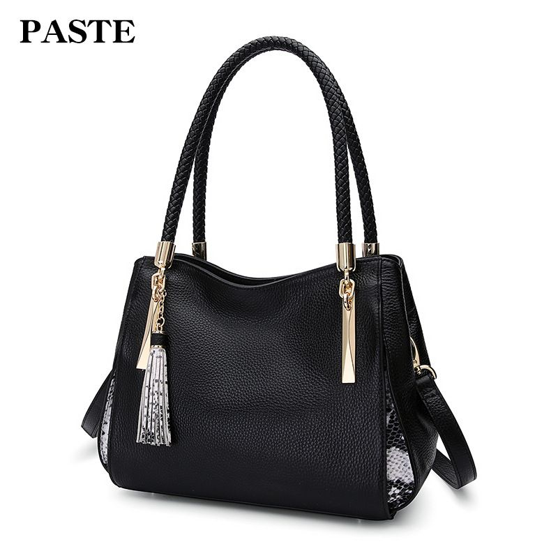 Genuine Leather Bag Female Luxury Handbags Women 7P1128 best in the market FREE SHIPPING