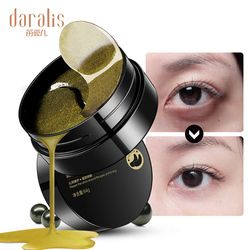 Black Pearl Golden Collagen Eye Mask 60pcs Gel Patches Wrinkle Eyes Bags Remover Dark Circles Ageless for Face Skin Care Pads