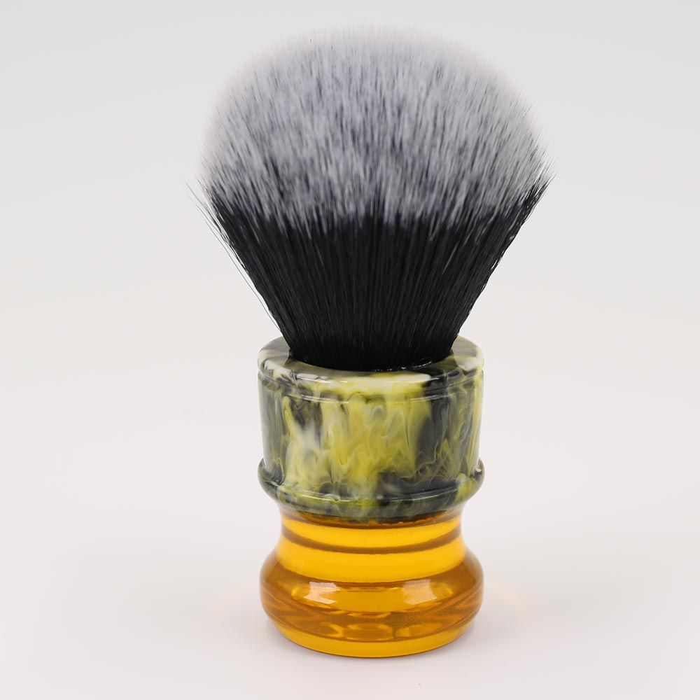 24MM Yaqi Sagrada Familia Black/White Synthetic Fibre Men <font><b>Shave</b></font> Brushes