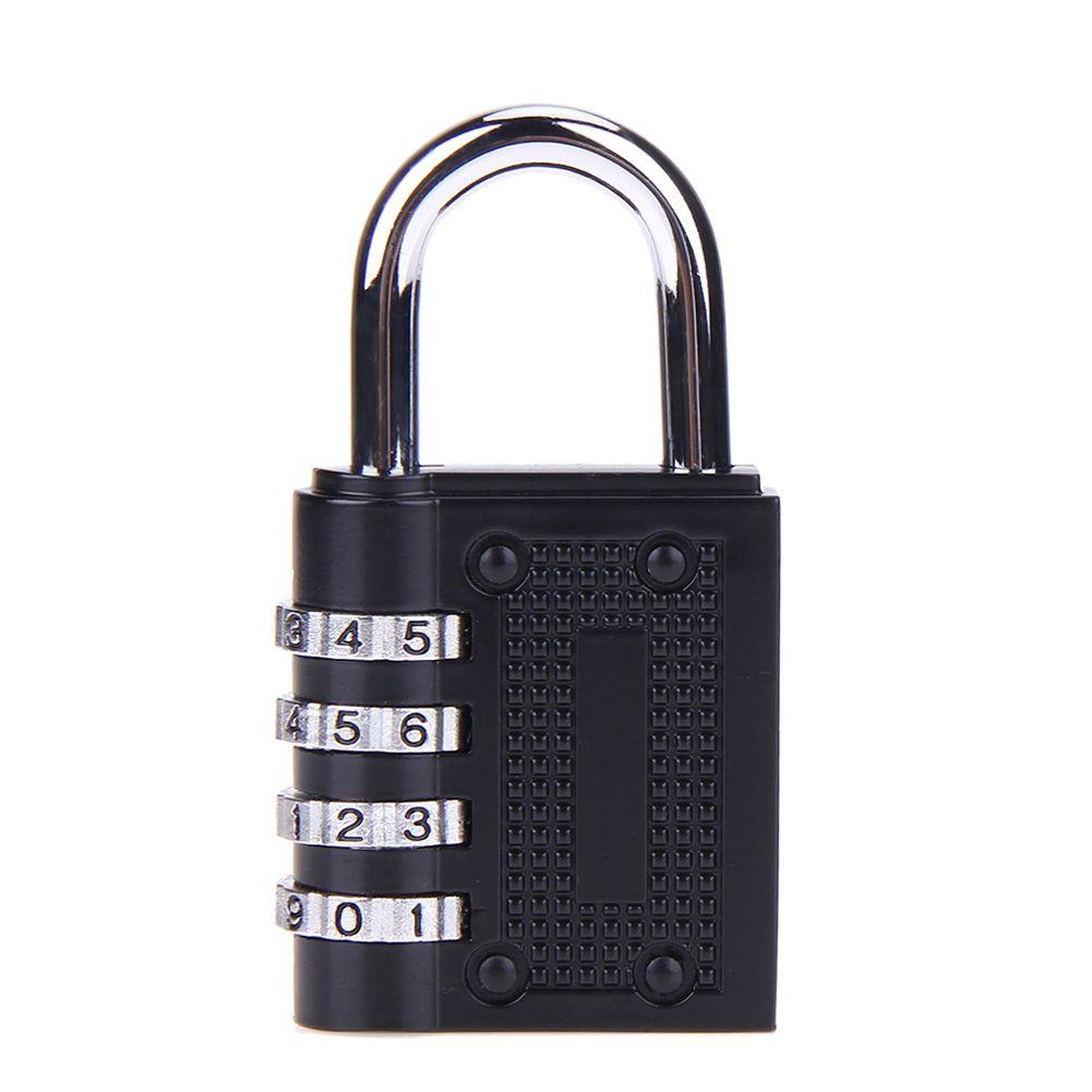 Hot Sale 4 Digit Password Lock Zinc Alloy Combination Security Lock Suitcase Luggage Coded Lock Cupboard Cabinet Locker Padlock