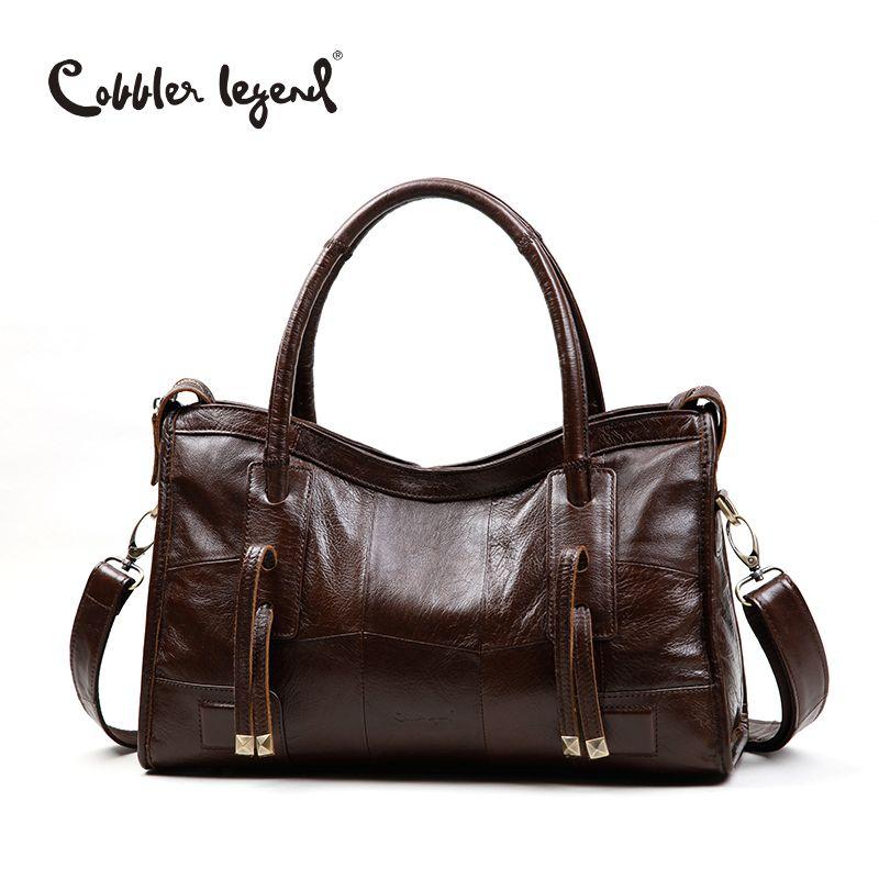 Cobbler Legend Original Genuine Leather Women Shoulder Bags 2017 New <font><b>Leisure</b></font> Trend Ladies Crossbody Bag For Women's Handbag