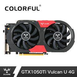 NVIDIA GTX 1050Ti tarjeta gráfica GeForce igame video juegos tarjetas 4 GB GDDR5 128bit pci-e X16 3.0 7 Gbps velocidad de la memoria