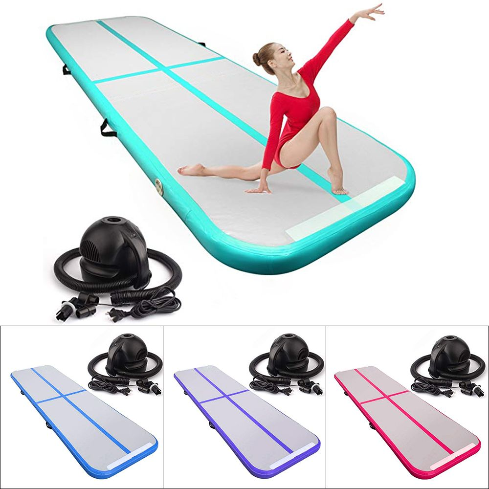 Inflatable Mattress Airtrack Gymnastic Tumbling Yoga Air Track Trampoline Home Taekwondo Cheerleading Gonflable Gymnastic Mat