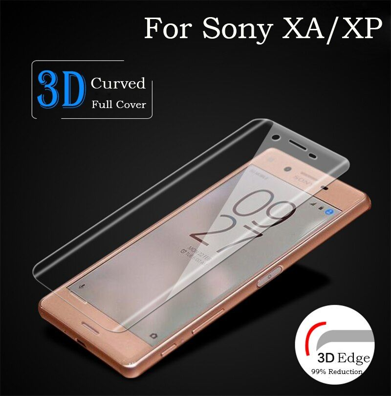 3D Full Cover For Sony Xperia X Performance F8131 F8132 Screen Protector Tempered Glass For Sony Xperia XA F3111 F3113 F3115