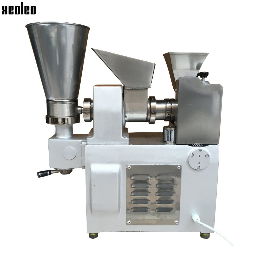 Xeoleo 3600pcs/h Dumpling machine Stainless steel Dumpling maker make Fried Dumpling/Samosa/Spring rolls/Huntun High quality