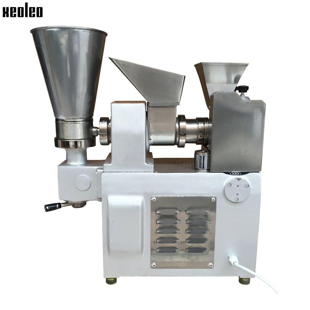 Xeoleo 3600pcs/h Dumpling machine Stainless steel Dumpling maker make Fried Dumpling/Samosa/Spring rolls/Huntun High quality