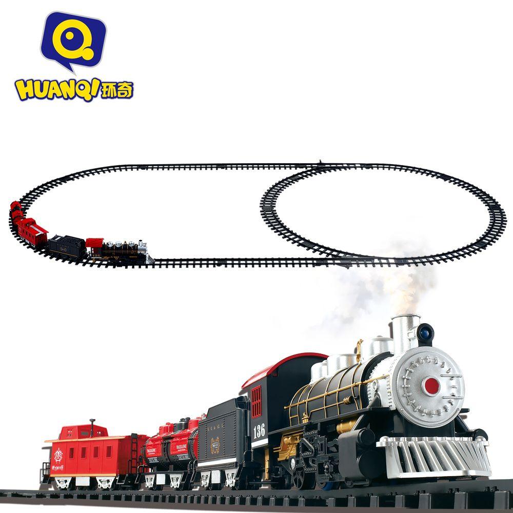 Mejor que la de Thomas Tren juguetes Clásicos Aclare Tren Batería Operado Vagón de tren Eléctrico Tren De Juguete con Sonido y Smok Rail coche