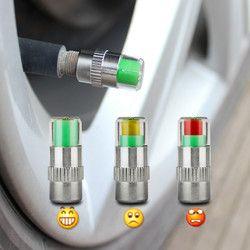 4 PCS 2.0Bar 30PSI Car Auto Pression des Pneus Moniteur Valve Stem Caps Capteur Indicateur D'alerte Des Yeux Outils De Diagnostic Kit