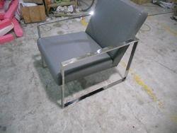 Sapi asli kursi kulit, / Nyata kulit luang kursi, / Ruang tamu kursi, Furniture rumah, Stainless steel