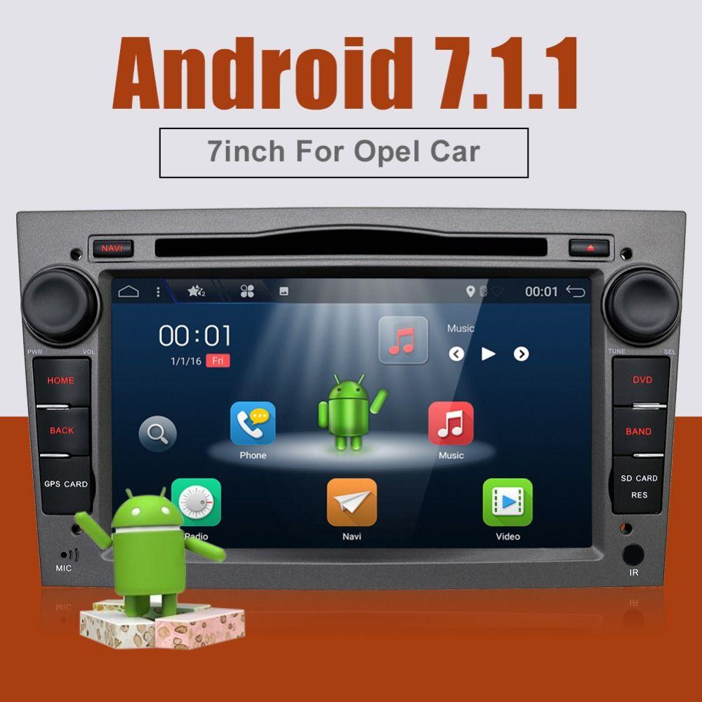 bosion Quad Core Android 7.1 2 din Car DVD Stereo for Vauxhall Opel Astra H G Vectra Antara Zafira Corsa GPS Navi Radio 2G