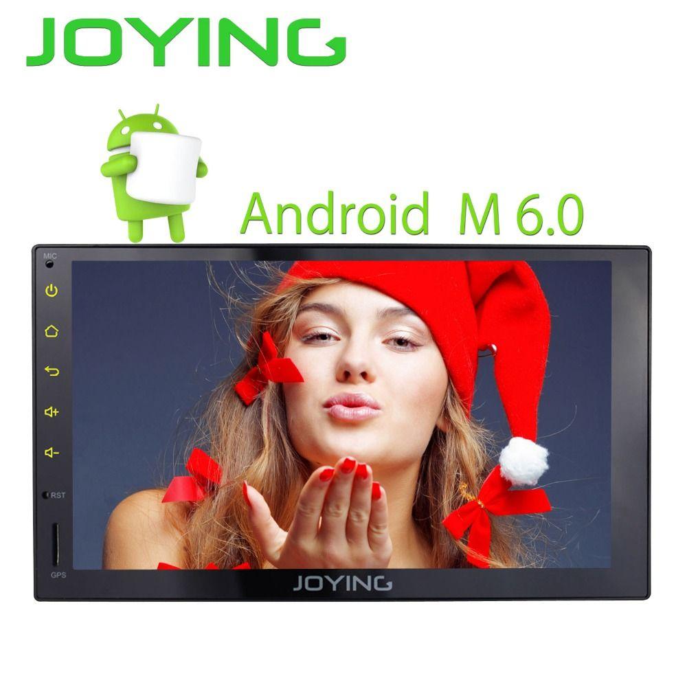 Joying 2GB Ram Tape recorder Universal Car Radio Stereo GPS 4G Wifi Steering Wheel Multmedia Player Built in Amplifier Video out
