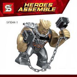 Cull Obsidian tunggal Sale Super Heroes Angka Avengers 3 Infinity Perang Aksi Building Bricks Blok Anak Hadiah Mainan SY1044-1