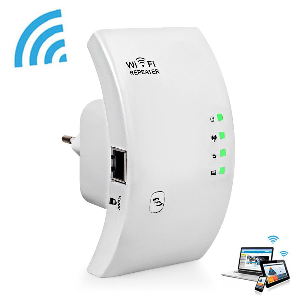 Répéteur WIFI d'origine 300 Mbps sans fil WiFi gamme de Signal Extender 802.11N/B/G Wifi Booster Signal amplificateur Point d'accès Wi-fi