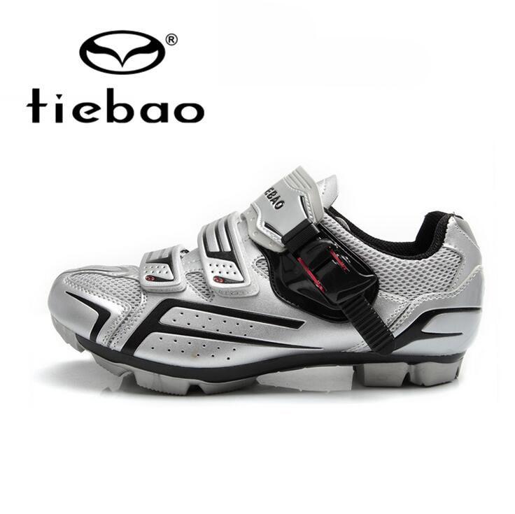 Tiebao Männer Bike Radfahren Schuhe Atmungs Fahrrad Professionelle Selbstsperre Nylon Carbon Fiber Sole MTB Sport Reiten Schuhe
