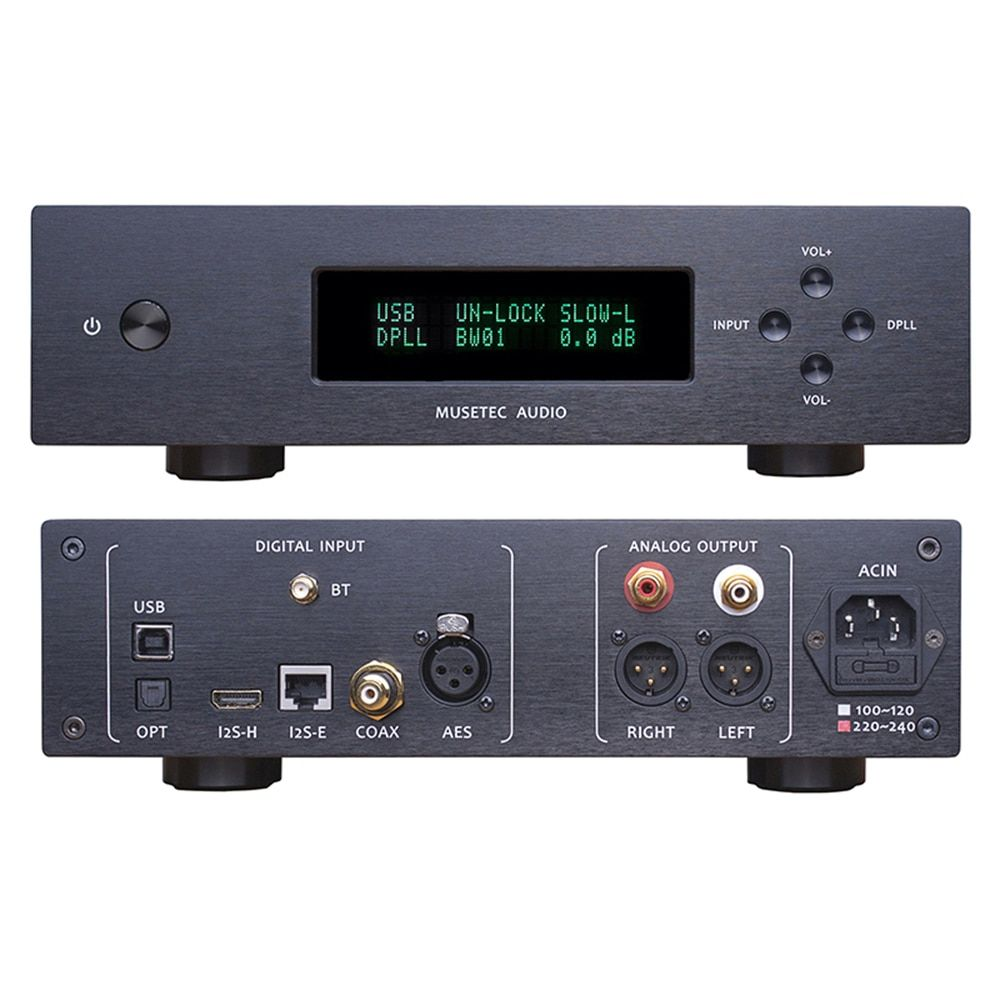 L.K.S Audio MH-DA004Mini ES9038pro Flagship DAC Audio Decoder