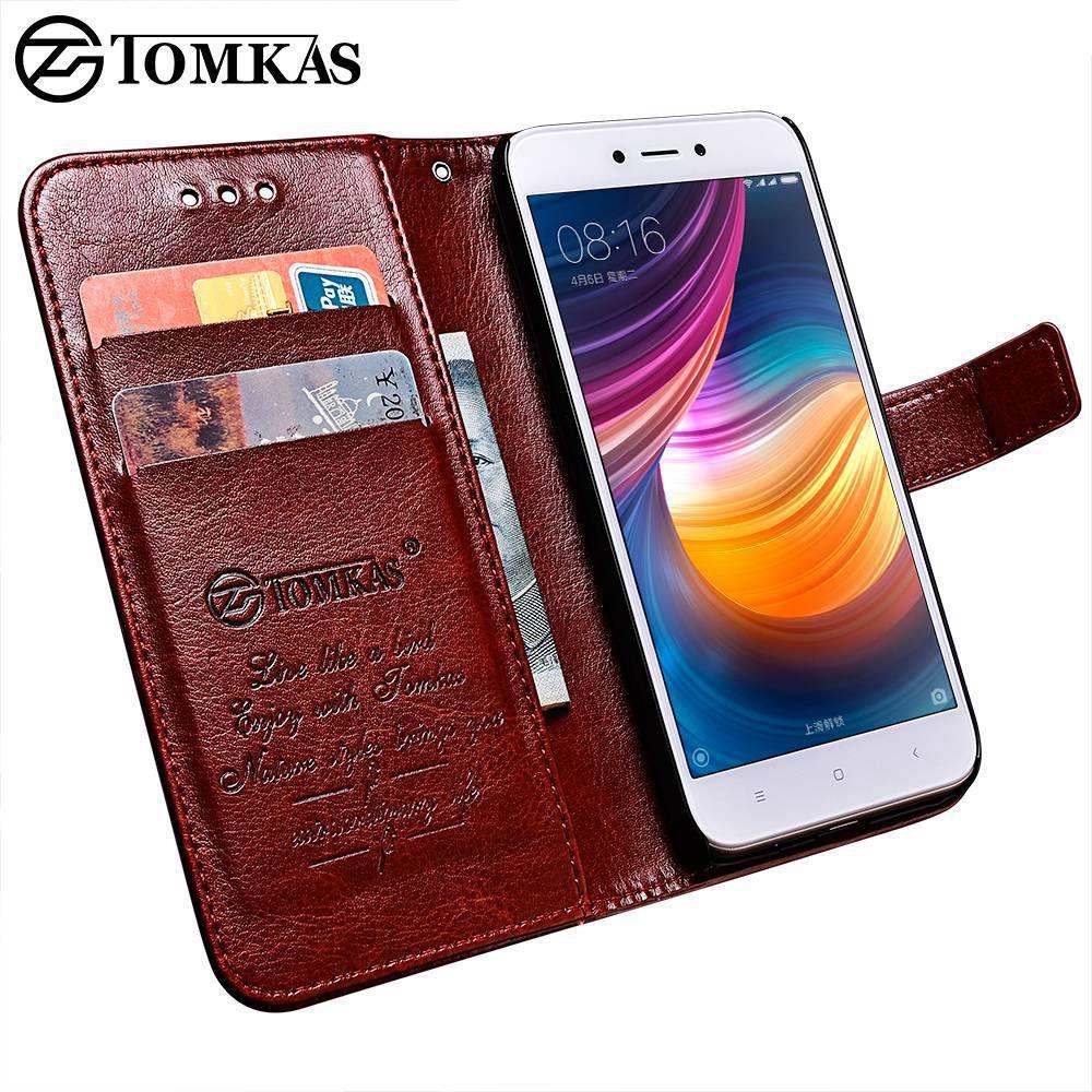 TOMKAS Téléphone Cas Pour Xiaomi Redmi 5A Redmi Note 5A Cas Couverture de portefeuille D'affaires PU Coque 5.0 Pouce Cas Pour Xiaomi Redmi 5A