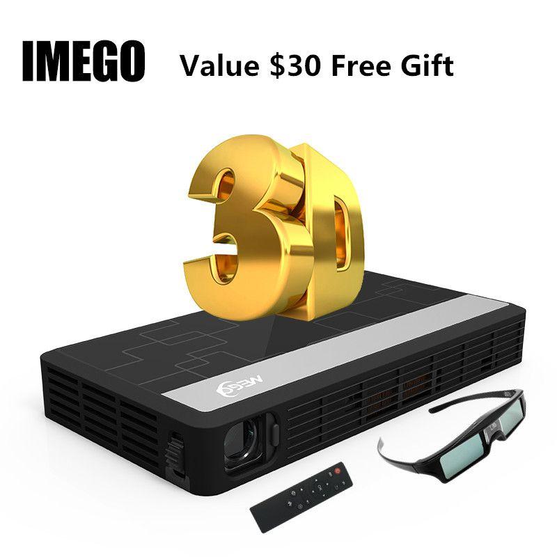 Longue Vie LED Full HD Home Cinéma TV Projecteur 3D multimédia Vidéo Jeu Smart Double WIFI Projecteurs Bluetooth Numérique MINI lumière