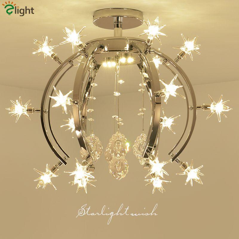 Lustre Modern Luminarias Led Ceiling Light Bedroom Ceiling Lamp Nordic Lighting Fixtures Led G4 Light For Dining Room