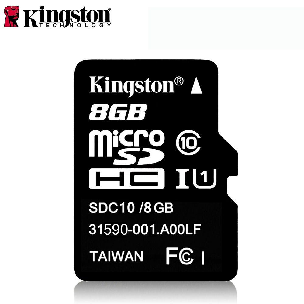 Kingston Class 10 Micro SD карта 32 ГБ 64 ГБ 8 Гб 16 Гб мини SD Карта памяти SDHC SDXC Micro SD TF карта для камеры Android смартфон