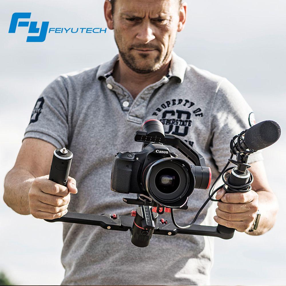 FeiyuTech feiyu FY a2000 3 Achsen Halterung DSLR Kameras Stabilisator Dual handheld grip für Canon 5D SONY Panasonic 2000g vs kran 2
