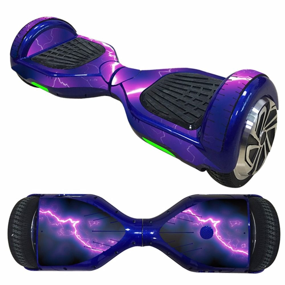 6,5 zoll Selbstausgleich Roller Haut Aufkleber Abdeckung Aufkleber Elektrisches Skateboard Aufkleber 2 Rad Schutzhülle Aufkleber