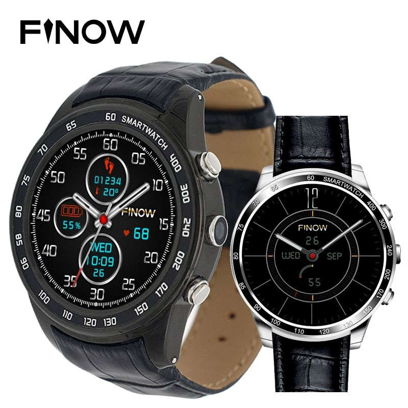 Finow Q7 plus smart watch Android 5.1 Quad Core 0.3MP Camera 3G Smartwatches support 32GB TFcard Wifi BT watch phone for Android