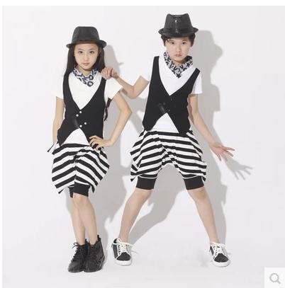 Ребенок дети джаз танцевальные костюмы для мальчиков/девочек Верховая езда Танцы одежда современные Танцы костюмы сценический костюм Одеж...