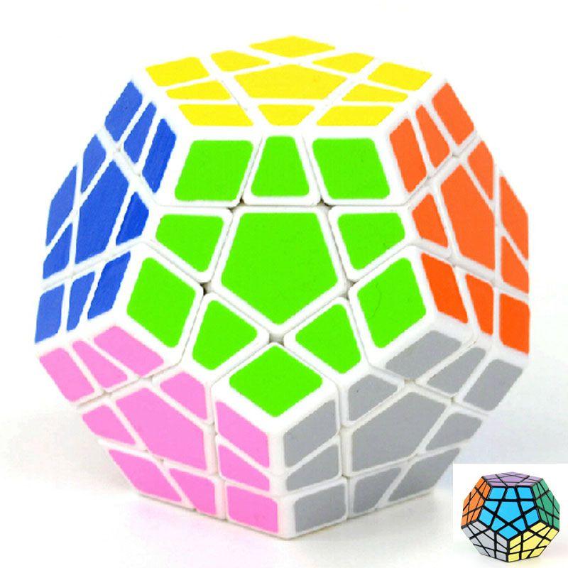 Новый бренд высокое количество Shengshou Megaminx Додекаэдр Magic Cube Специальные кубики Паззлы игрушки твист magic0 площадь Cubo