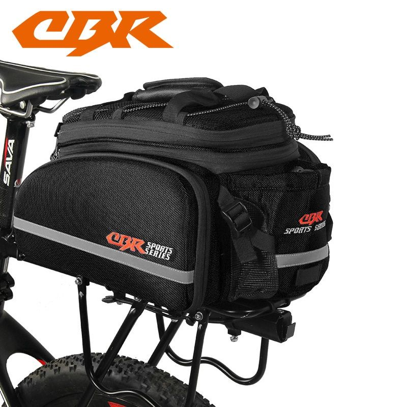 CBR Bicycle Bag Bike Rear Seat Trunk Waterproof Bag Handbag Rear Bike Panniers Mountain Bike Outdoor Cycling Travel Package