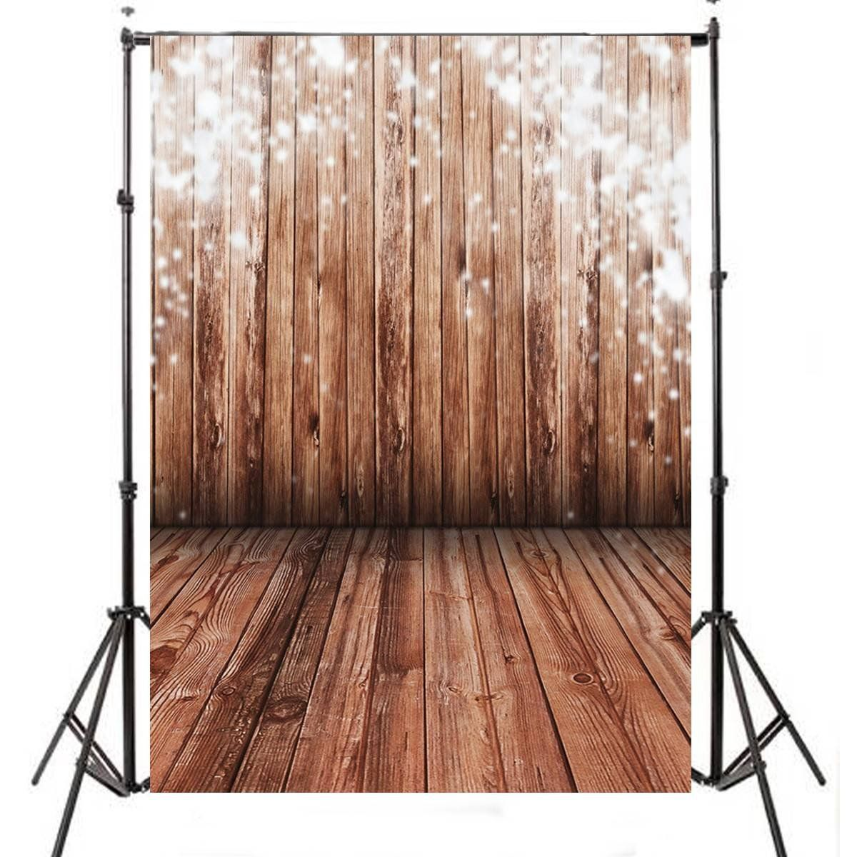 5x7FT Wood Wall Vinyl Photography Backdrop Photo Background Studio Props High Quality New Best Price