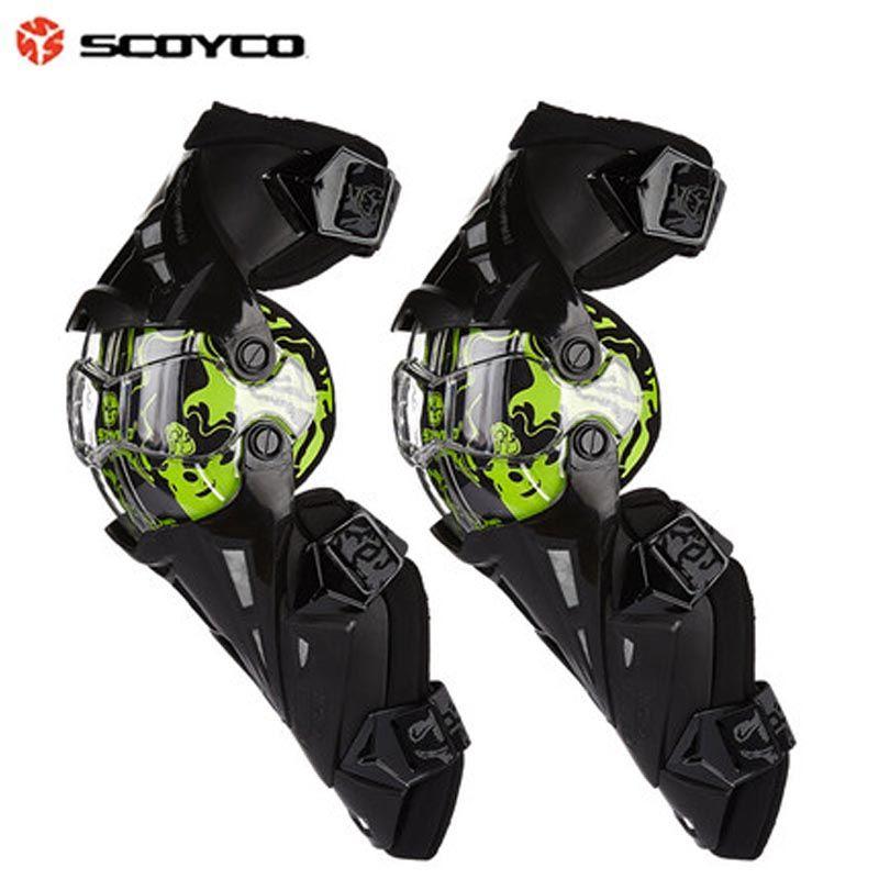 Scoyco Motorcycle Protective kneepad motorbike knee pads Motocross KneePads