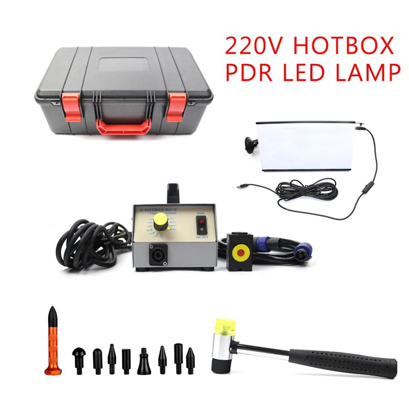 220V Hot Box System Induction Magnetic Induction And PDR Led Lamp For Car Paintless Dent Repair