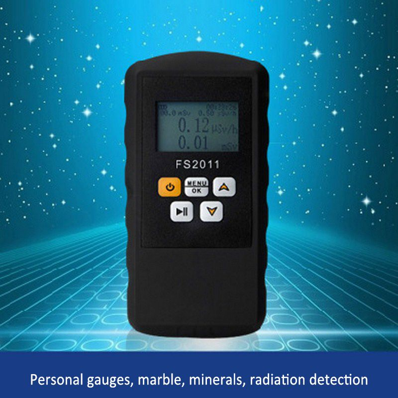 Geiger Radiation Counter Nuclear Detector Beta Gamma X-ray with Alarm Marble Tester Tool LCD Display Radioactive Detector