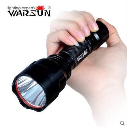 Samsung led c8 linterna táctica led linterna portátil 18650 luz impermeable led de la antorcha que acampa al aire libre ciclismo