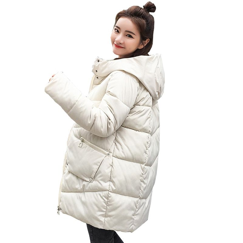 parka women 2018 Winter Jacket Women Coats Hooded Coats Female Parka Thick Cotton Padded Lining Winter Female Coats YY8801