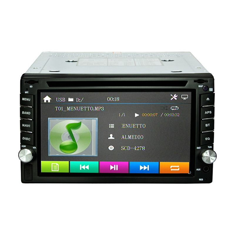Universal 6.2 inches 2Din Car DVD GPS Navigation RM- LC353 Car Stereo Radio GPS Bluetooth USB / SD Player Car Radio Player