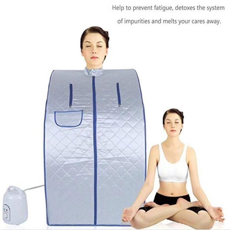 Portable Dampfsauna mit dampferzeuger iBeauty Heimsauna Box für abnehmen detoxin brennen calaries entlasten schmerzen der körper