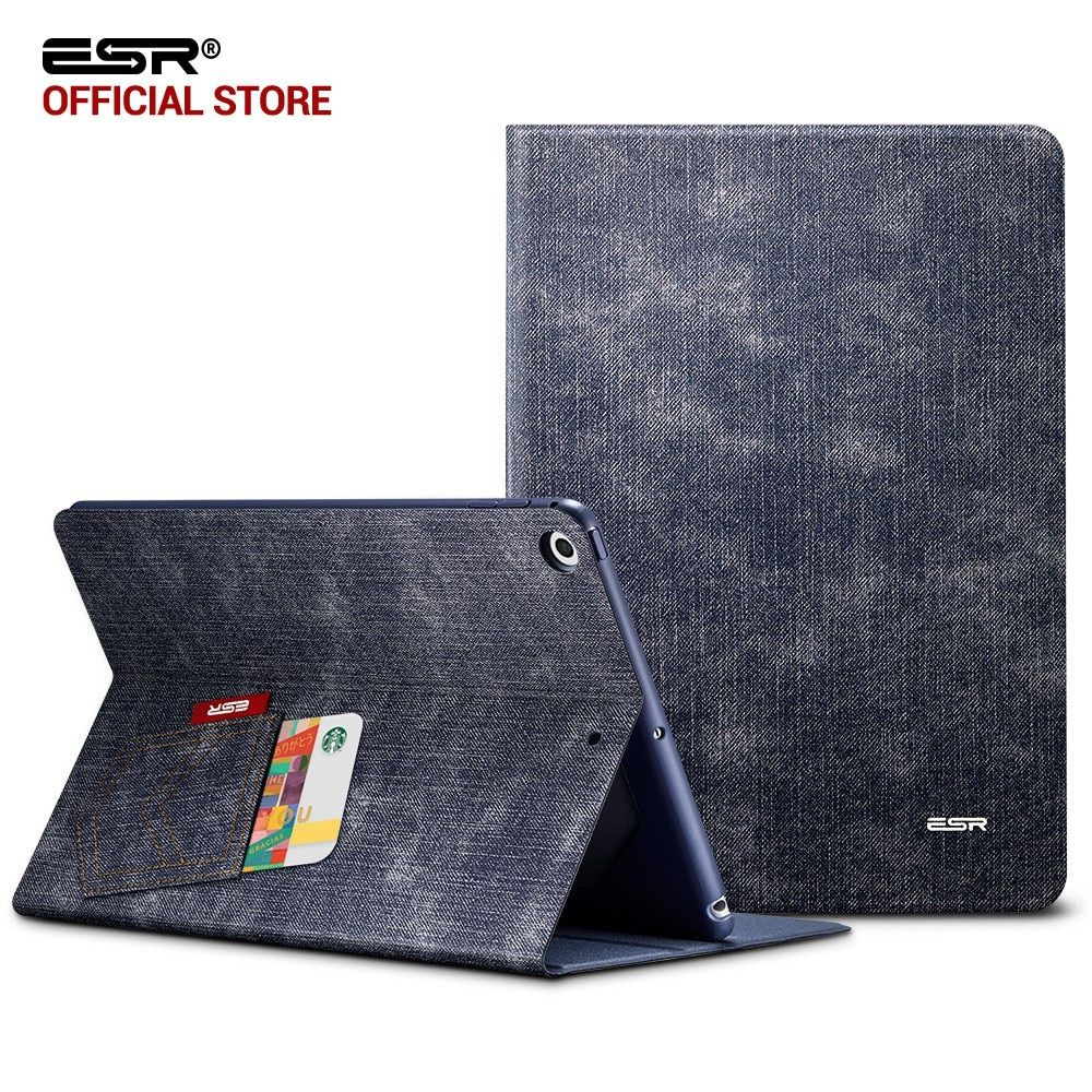 Case for iPad 9.7 2017, ESR Simplicity PU Leather Smart Cover Folio Case Auto Wake Cover case for New iPad 2017 Release 9.7 <font><b>inch</b></font>
