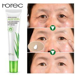 Rorec Moisurizing Aloe Vera Serum Mata Menghapus Gelap Lingkaran Bengkak Tas Kolagen Anti Keriput Yang Paling Efektif Eye Cream Perawatan