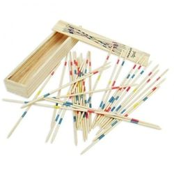 Baby Children Educational Wooden Traditional Mikado Spiel Pick Up Sticks With Box Game Kids Gifts