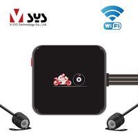 SYS M6L WiFi 1080 p Full HD de la motocicleta DVR en cámara grabadora con HD 720 p vista trasera impermeable de la lente dash Cam